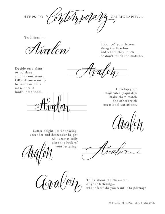 Contemporay-calligraphy-by-erica-mcphee